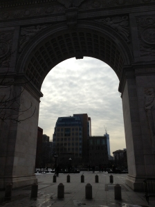 Looking Through the Arch