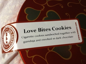 Love Bites Cookie Tin