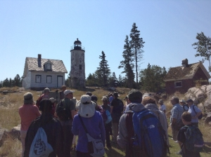 Beginning Our Tour of Baker Island